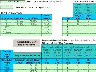 Download Rotating Shift Schedules for Your People