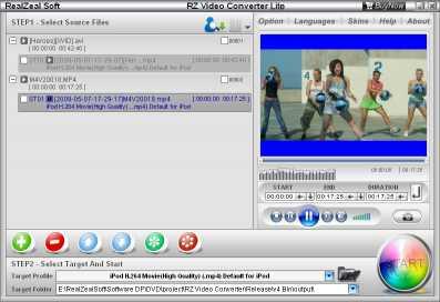 RZ Video Converter Lite