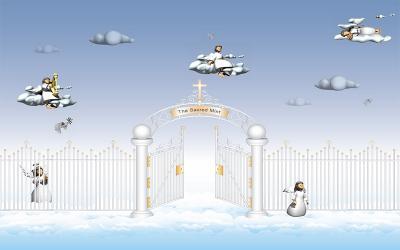 Download Sacred Angels Christian Screensaver