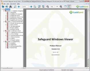 Download Safeguard Secure PDF File Viewer
