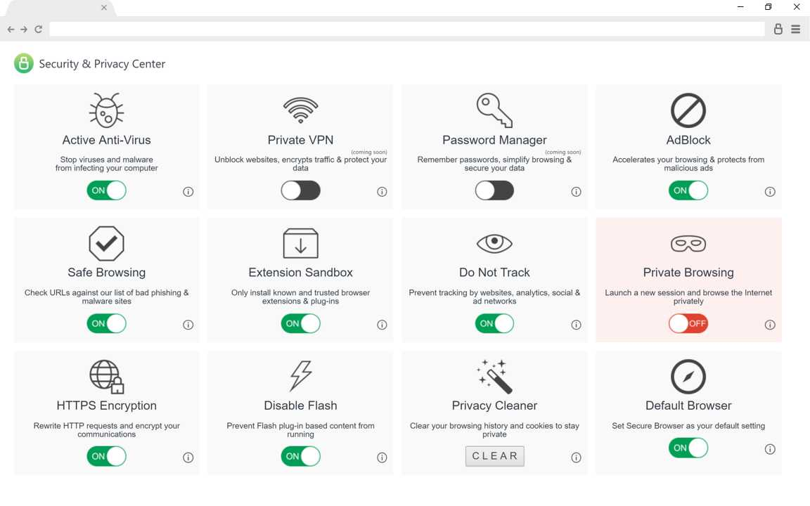 SaferTech Secure Browser