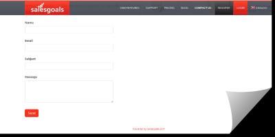 Download SalesGoals.com ContactForm for Wordpress