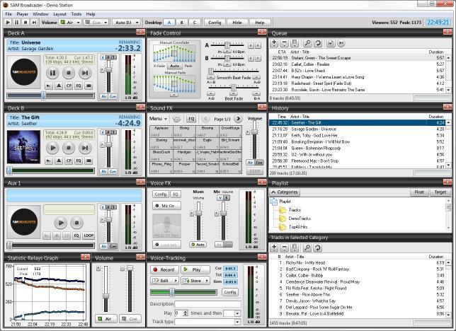 Download SAM Broadcaster
