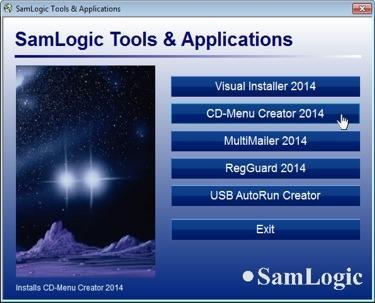 Download SamLogic CD-Menu Creator
