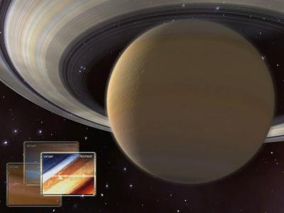 Download Saturn 3D Space Screensaver