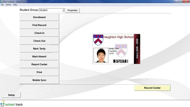 Download School Track Student Attendance Software