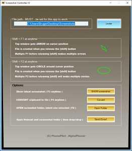 Screenshot Controller