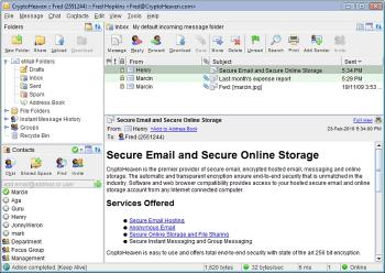 Download Secure Email CryptoHeaven Linux