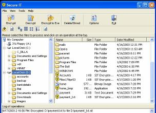 Download Secure IT Encryption Software