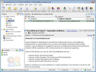 Download Secure Medical HIPAA Email Linux