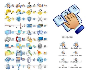 Download Security Icon Set