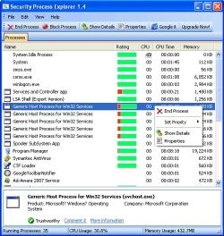 Download Security Process Explorer