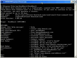 Download Send Email From Command Line