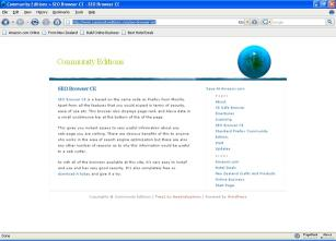 Download SEO Browser CE