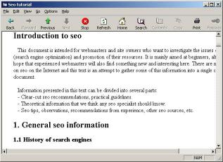 Download Seo tutorial