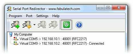 Download Serial Port Redirector