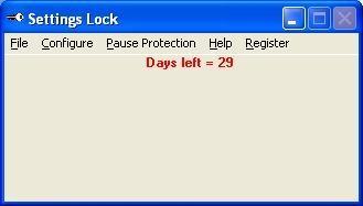 Download Settings Lock