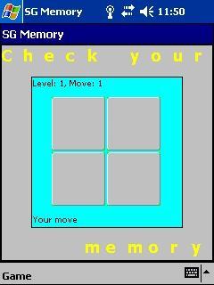 Download SG Memory for Pocket PC