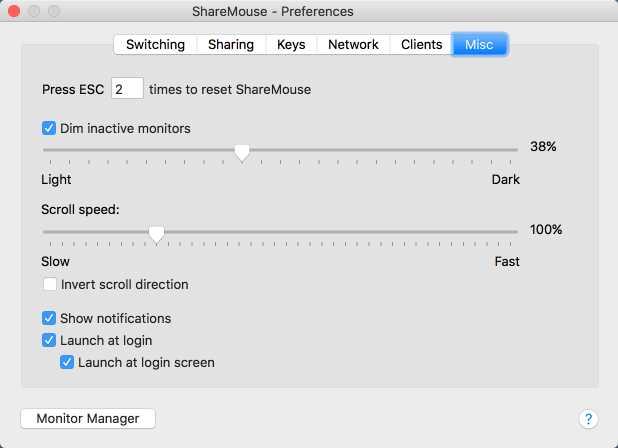 ShareMouse for Mac
