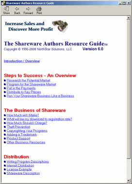 Download Shareware Authors Resource Guide