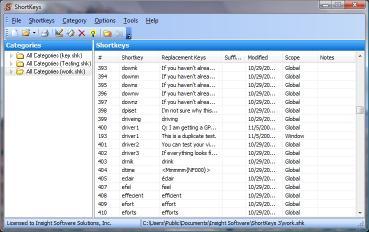 Download ShortKeys