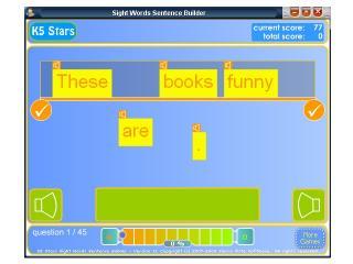 Download Sight Words Sentence Builder