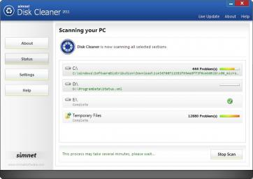 Download Simnet Disk Cleaner 2011