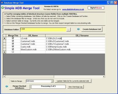 Download Simple MDB (Access Database) Merge