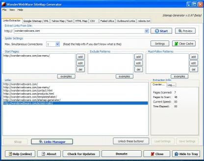 Download SiteMap Generator
