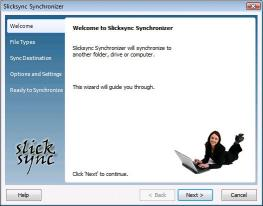 Download Slicksync WordPerfect Synchronizer Basic