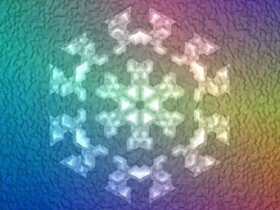 Download Snowflake Crystal 3d screensaver