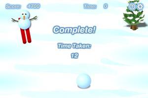 Download Snowman Skiing