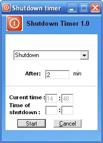 Download Sofonica Shutdown Timer
