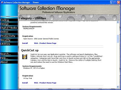 Download Software Collection Manager