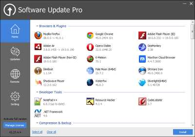 Download Software Update PRO