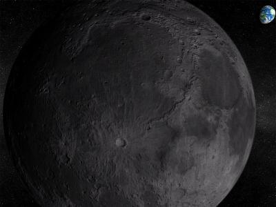 Download Solar System - Moon 3D screensaver