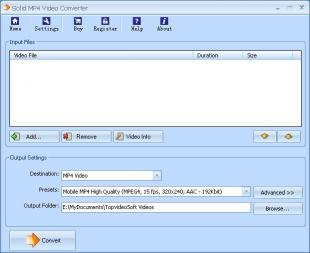 Download Solid FLV to MP4 Converter