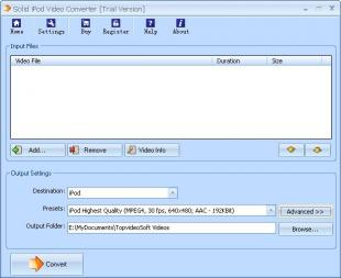 Download Solid iPod Video Converter