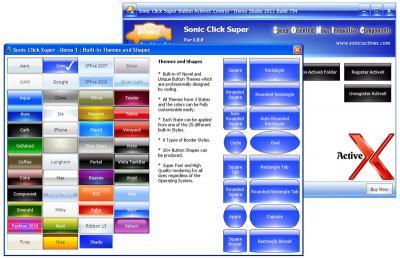 Download Sonic Click Mega Button ActiveX Control