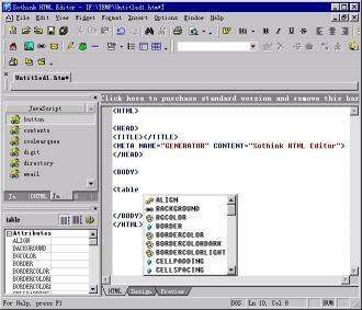 Download Sothink HTML Editor