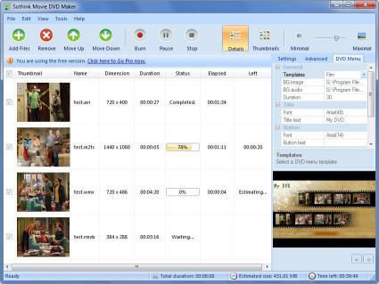 Download Sothink Movie DVD Maker Platinum