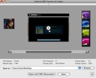 Download Sothink SWF Catcher for Safari - Free
