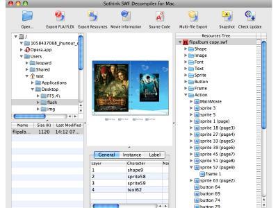 Download Sothink SWF Decompiler fuer Mac