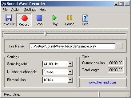 Download Sound Wave Recorder