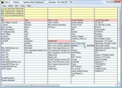 Download Spartan U3 Multi Clipboard