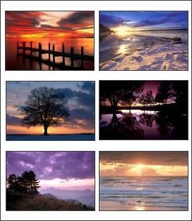 Download Spectacular Sunsets Screensaver