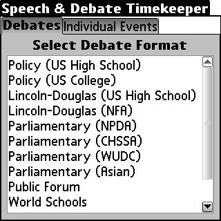 Download Speech and Debate Timekeeper