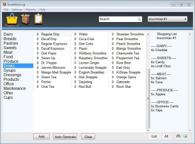 Download Speed Shop & Inventory Log