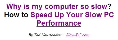 Download Speed Up PC