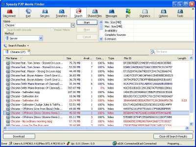 Download Speedy P2P Movie Finder